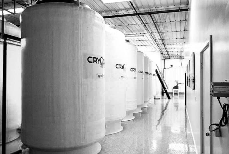 innenraum des cryonics institute