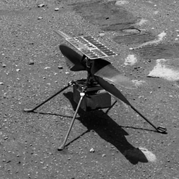 bild des mars-helikopters ingenuity