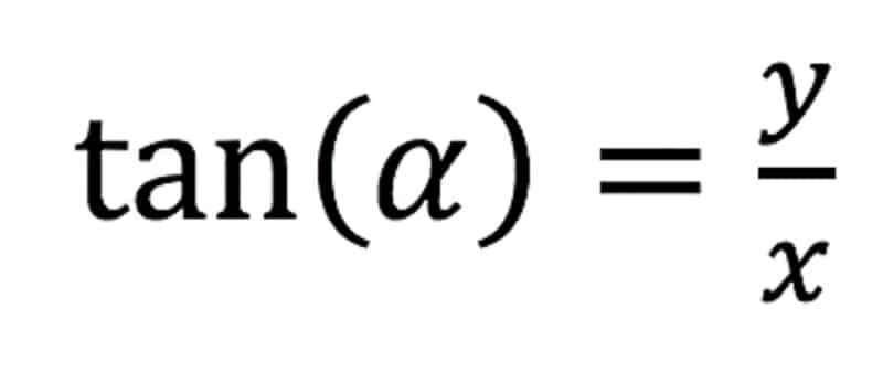 formel zur berechnung des winkels