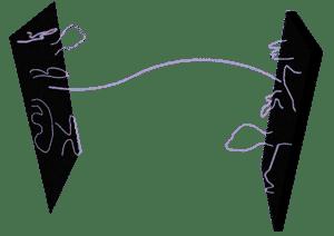 offene und geschlossene strings an einer d-bran